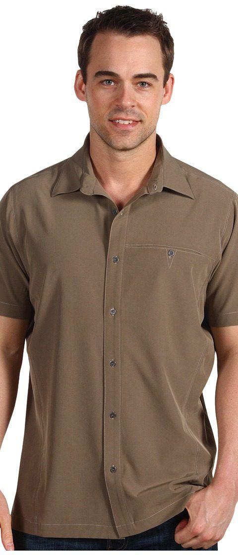 KUHL Renegade Shirt (Khaki) Men's Short Sleeve Button Up - KUHL, Renegade Shirt, 3069-KK, Apparel Top Short Sleeve Button Up, Short Sleeve Button Up, Top, Apparel, Clothes Clothing, Gift, - Street Fashion And Style Ideas