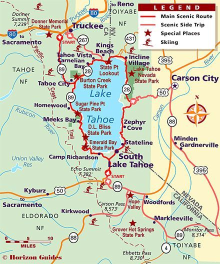 lake tahoe road map Explore California 1 Vacation Travel Guide Hotels Maps lake tahoe road map