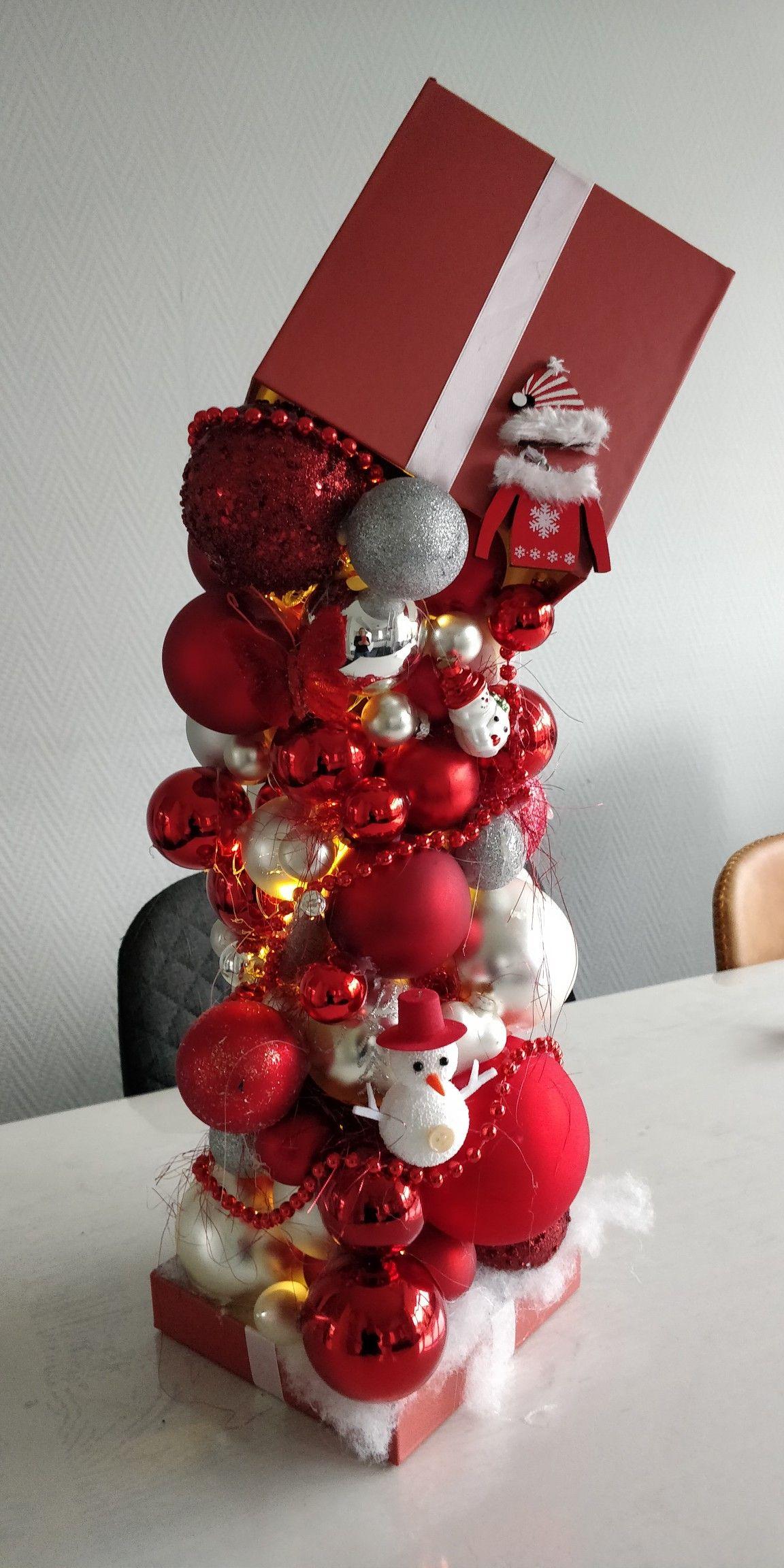 Kerstballen Vallen Uit De Doos Doos Decoratie Kerstballen Kerst