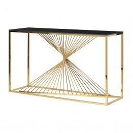 Gold Rays Console Table   La Maison Chic Furniture Company Online. Coach  HouseLiving ...