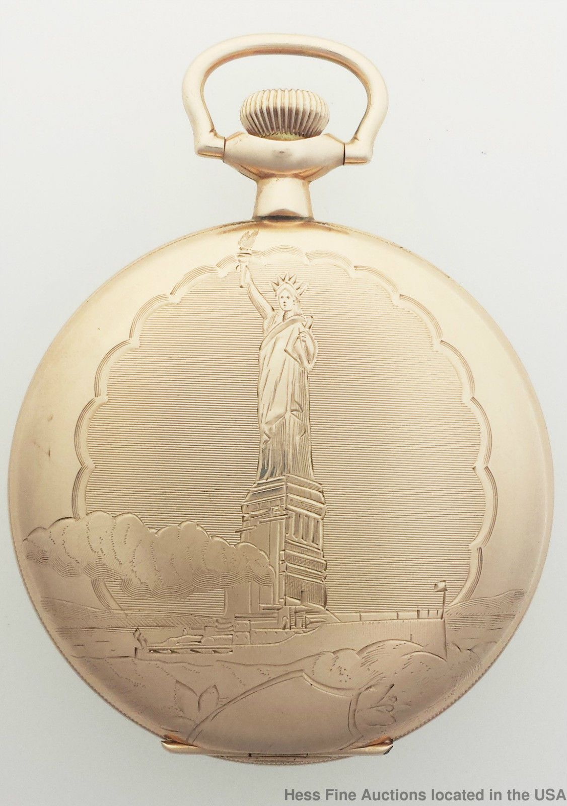 a82739e96 Rare Elgin Statue of Liberty American Eagle Fancy Dial Hunter Pocket Watch  | Jewelry & Watches, Watches, Parts & Accessories, Pocket Watches | eBay!