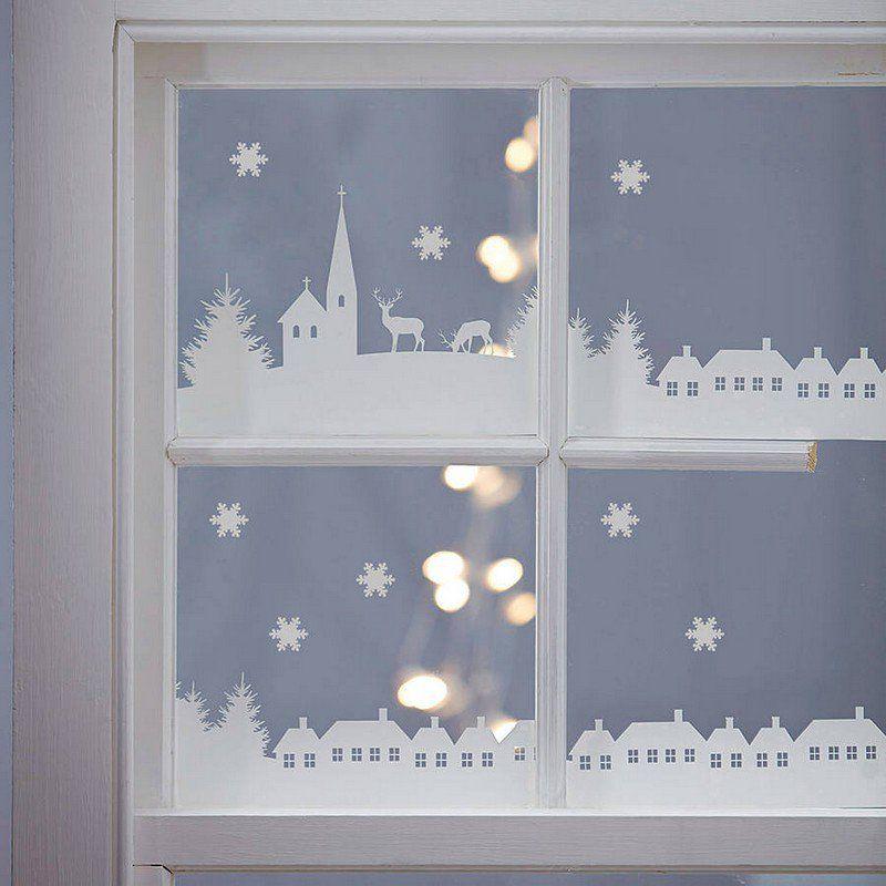 Déco fenêtre Noël: 24 idées DIY créatives et faciles pour vous ...