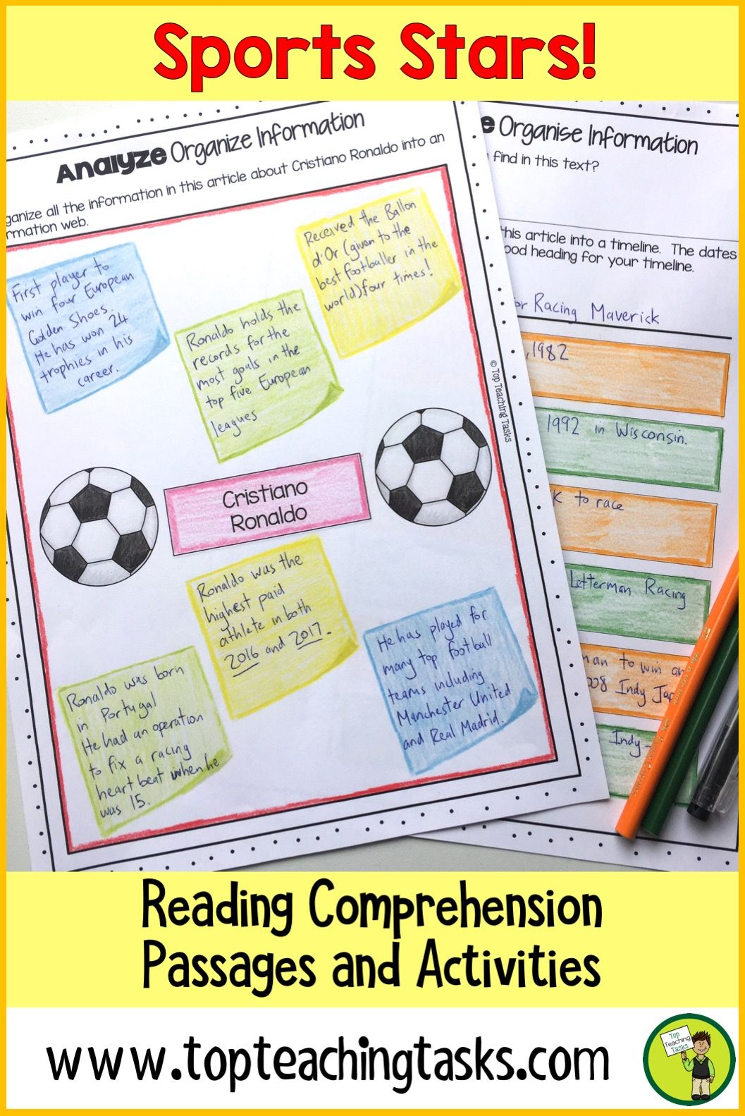 Sports Reading Comprehension Passages And Questions Us Nz