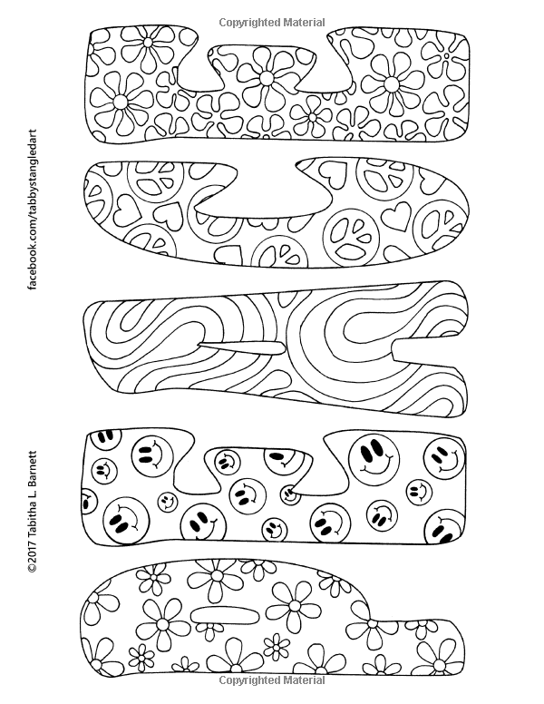 That 60s Coloring Book: 25 Hippie Inspired Adult Coloring ...