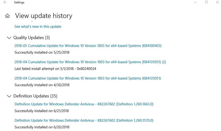 Windows 10 Update Infinite Boot Loop Installing The Same Updates