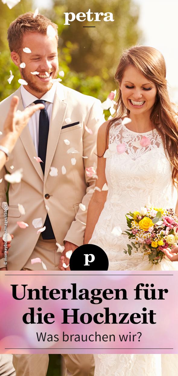 Jetzt Wird Es Amtlich Alle Unterlagen Fur Die Ehe Unterlagen Hochzeit Hochzeit Eheversprechen