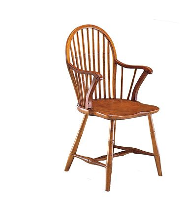Historic Reproductions: Windsor Oval Back Arm Chair Frederick Duckloe