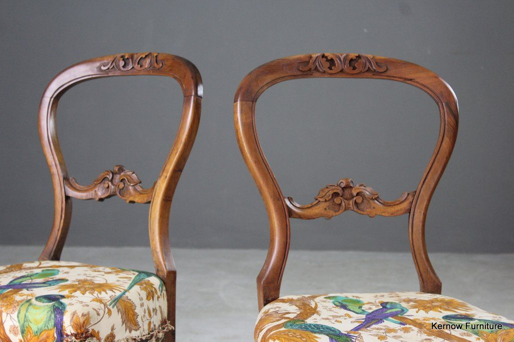 Miraculous Pair French Balloon Back Dining Chairs Our House Dining Gamerscity Chair Design For Home Gamerscityorg