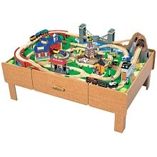 Imaginarium Classic Train Table With Roundhouse Imaginarium