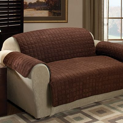 Don T Resort To Grandma S Plastic Covers Comfy Quilted Sueded Furniture Protect Your And Look Great Too Keep Pet Hair Stains