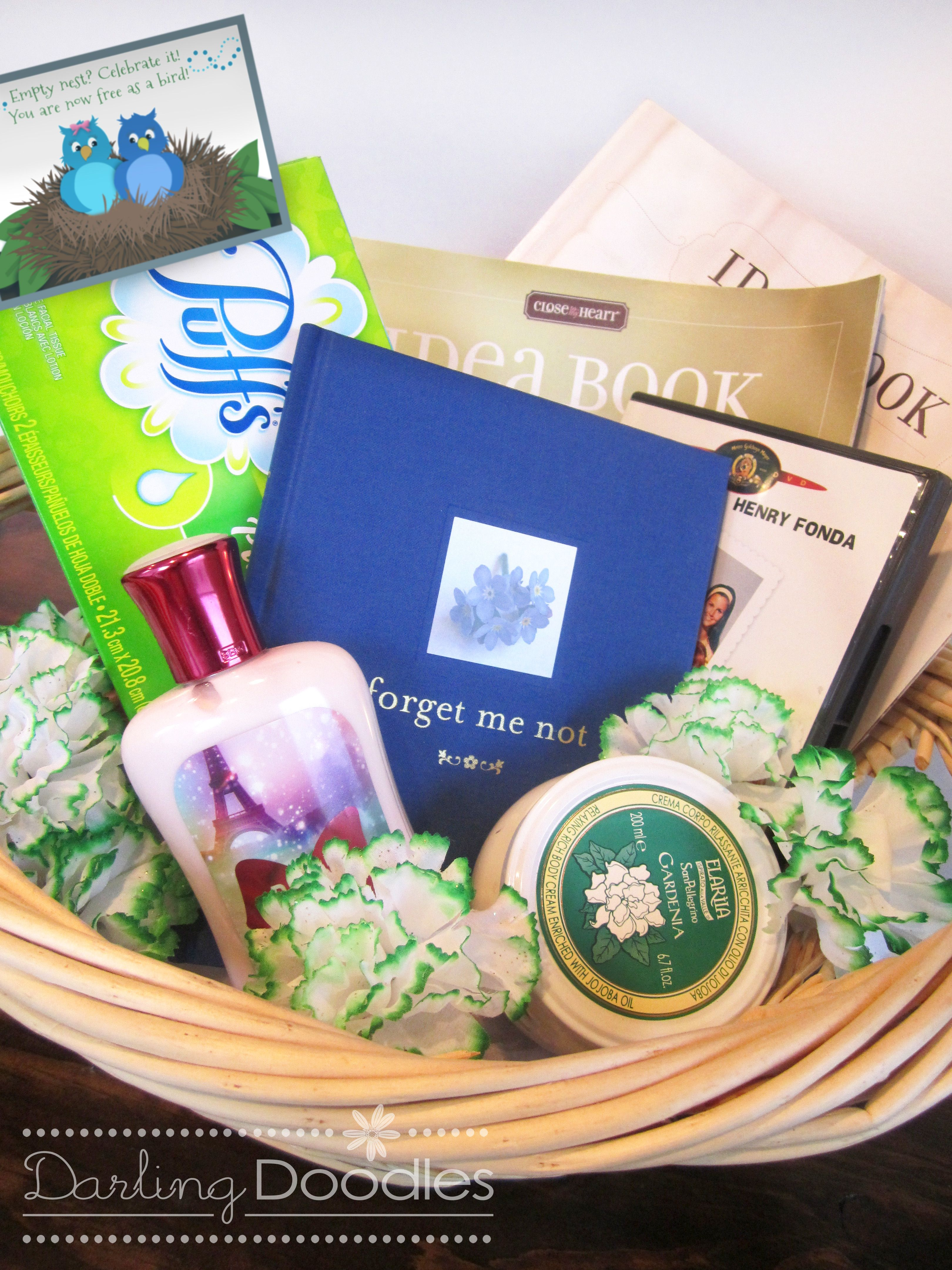 For parents from sondaughter gift basket for coping with empty for parents from sondaughter gift basket for coping with empty nest syndrome good for when you move out or for those of you that stay home until your negle Image collections