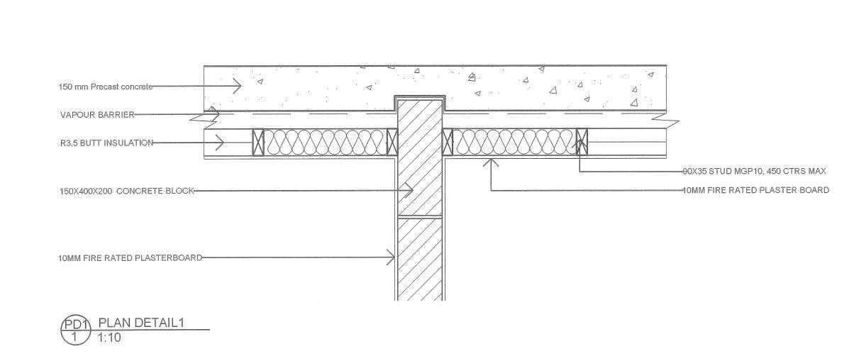 Precast Concrete Wall Plan Details1 Precast Concrete Concrete Blocks Concrete