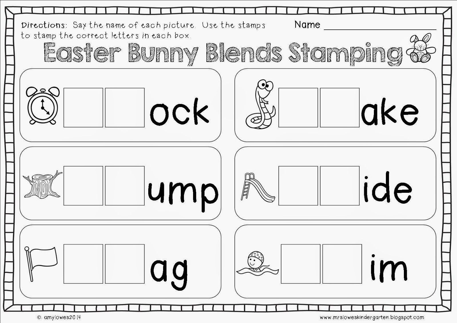 No Prep Easter Math And Literacy Printables Giveaway With
