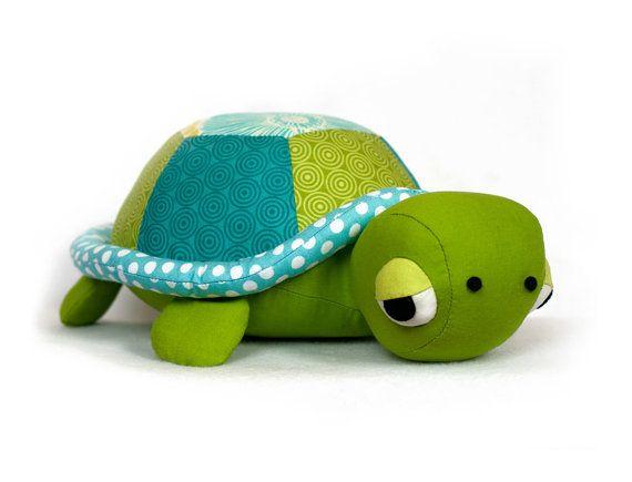 Stuffed Plush Toy Baby Tortoise Doll Pillow Turtles For Kids Xmas Gift LA