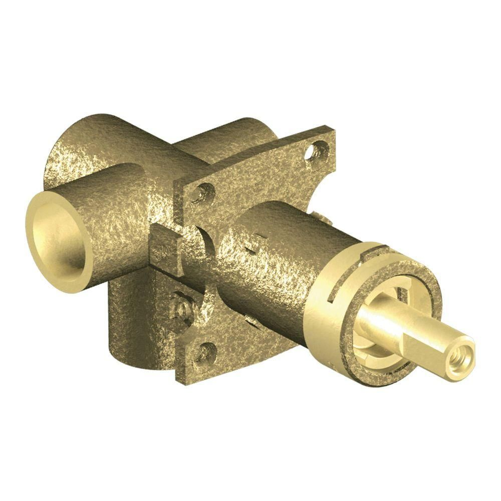 Moen Brass Rough In 3 Function Transfer Shower Valve 1 2 In Cc