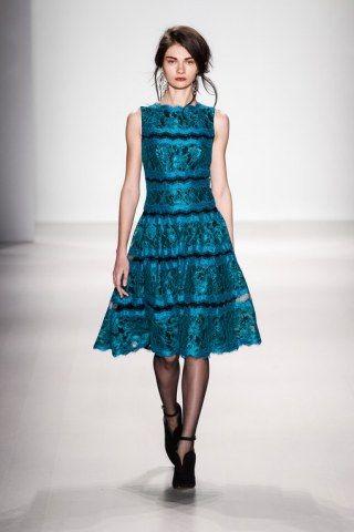 Tadashi Shoji New york Fashion Week Otoño Invierno 2014-2015@Pixelformula