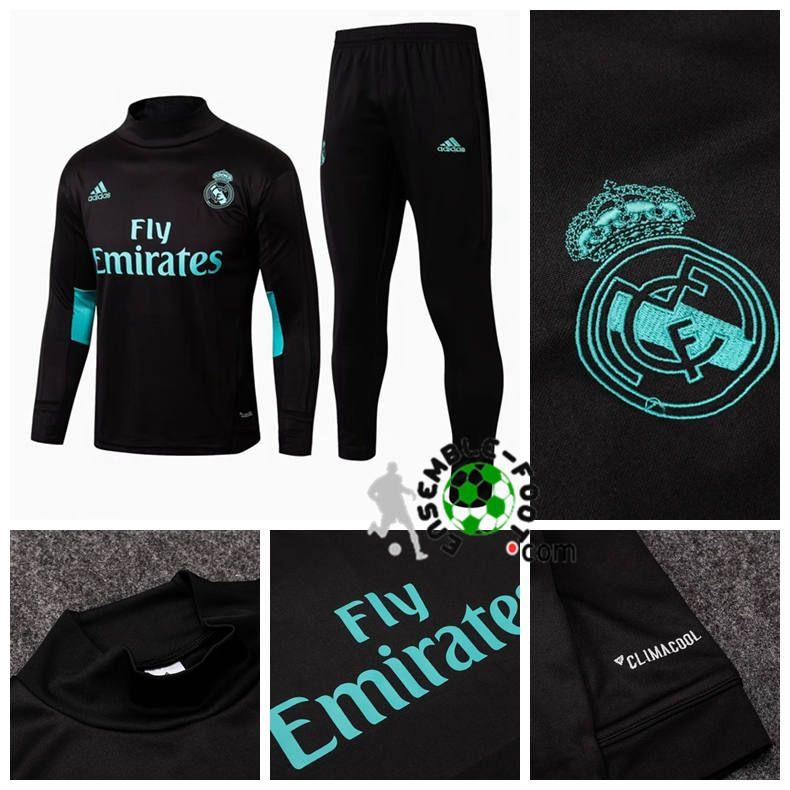 ensemble de foot Real Madrid 2018