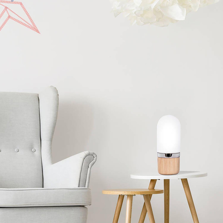 Designer Tischlampe Led Tischlampe Landhausstil Weiss Led Leuchten Deckenspots Led Lampen Mit Batterie Und Bew Tischlampen Haus Deko Nachttischlampe Touch