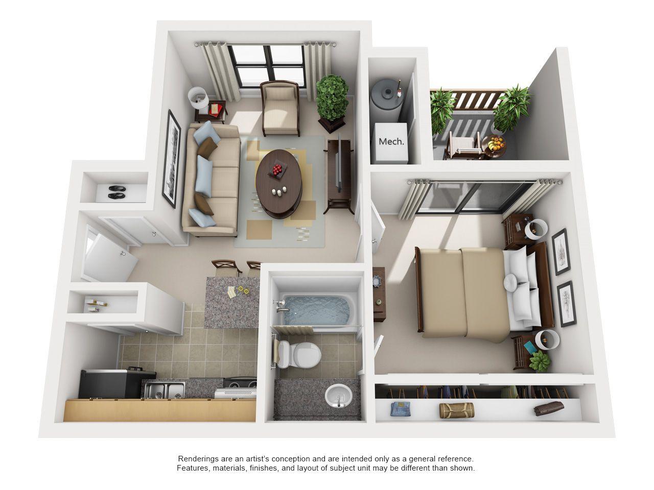 Studio One Two Bedroom Apartments In Smyrna Ga Smyrna Georgia Apartment Steadfast House Floor Design Tiny House Floor Plans Apartment Layout