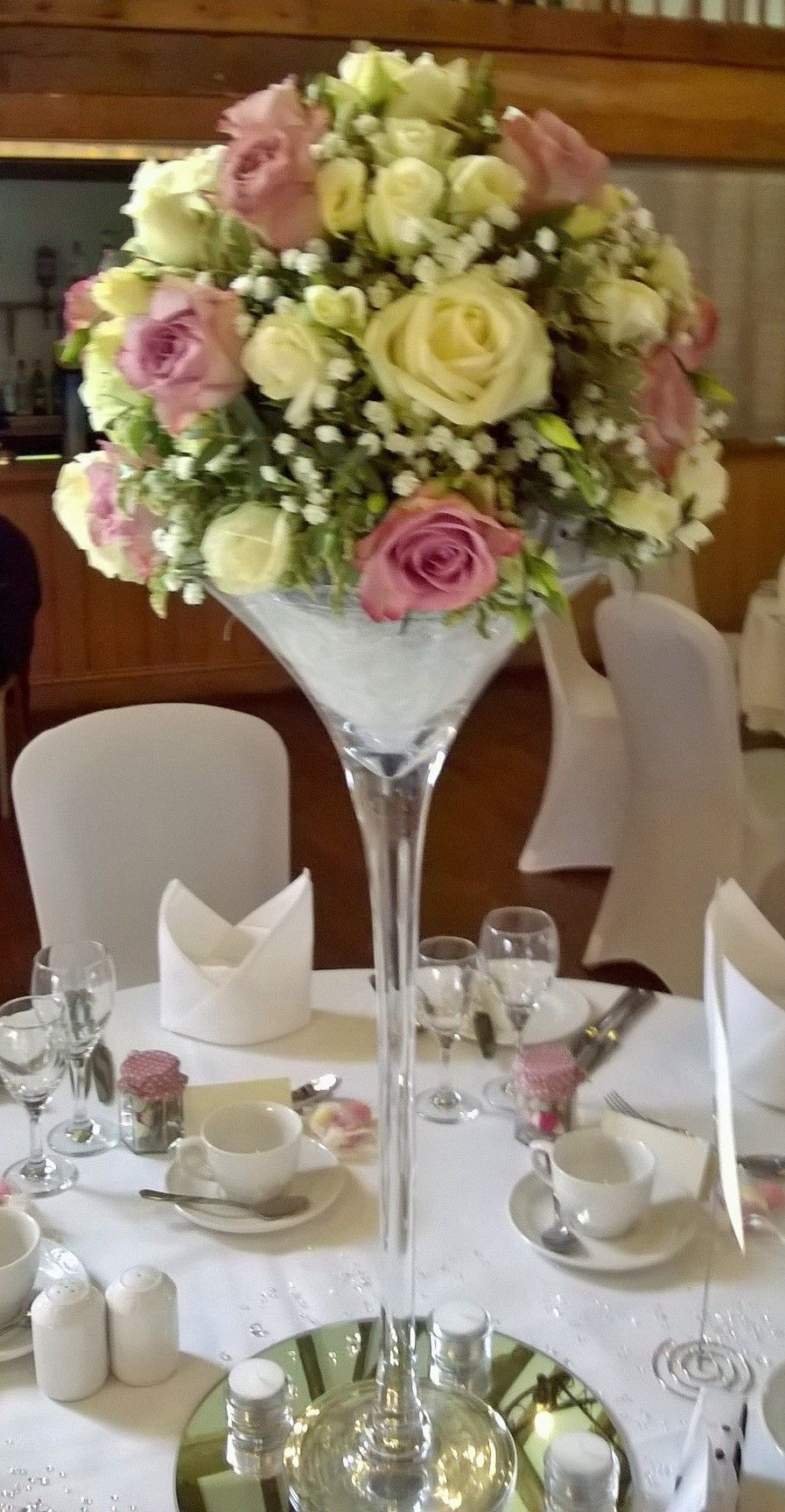 Memory lane roses and lisianthus martini vase wedding centrepiece memory lane roses and lisianthus martini vase wedding centrepiece wedding centrepiecescenterpiecesmartiniwedding flowersvaseshappy reviewsmspy