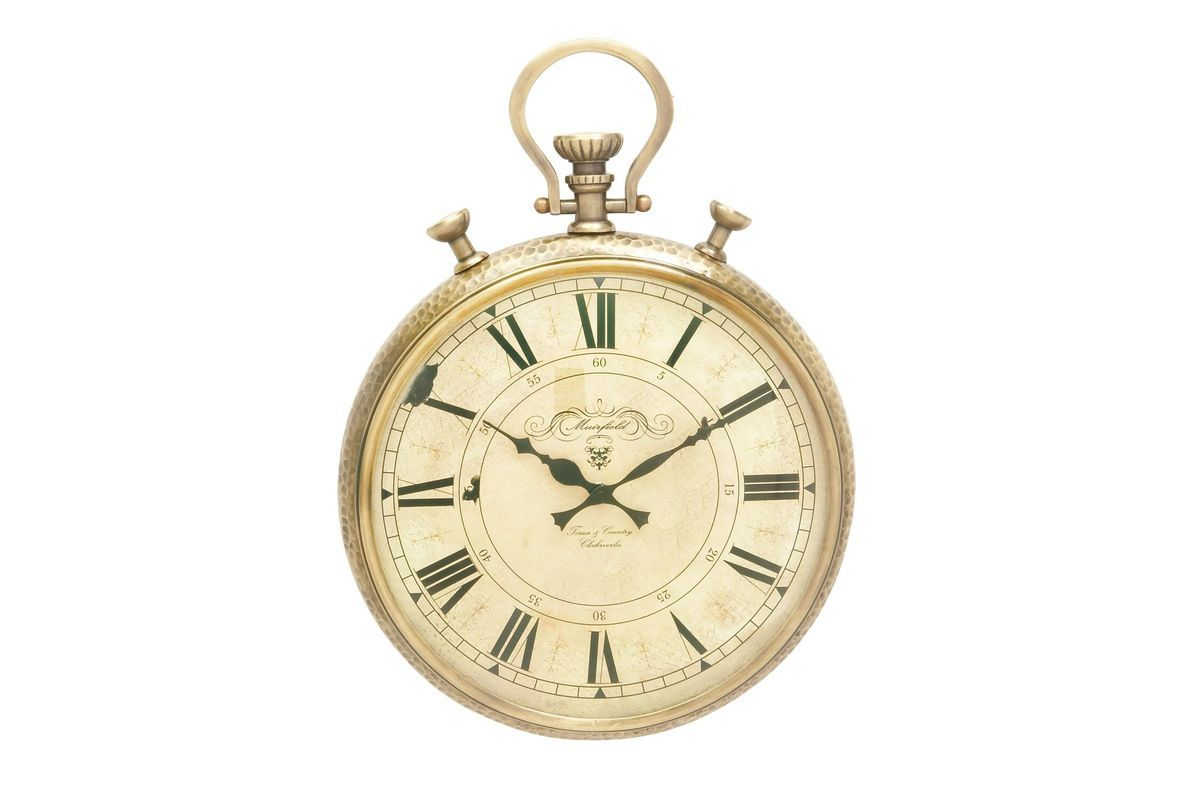 Vintage Reflections Stopwatch Style Wall Clock At Gardner White