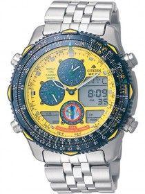 0f06ebea612 Relógio Citizen JN0047-59Y Promaster Esquadrilha da Fumaça Mascu ...
