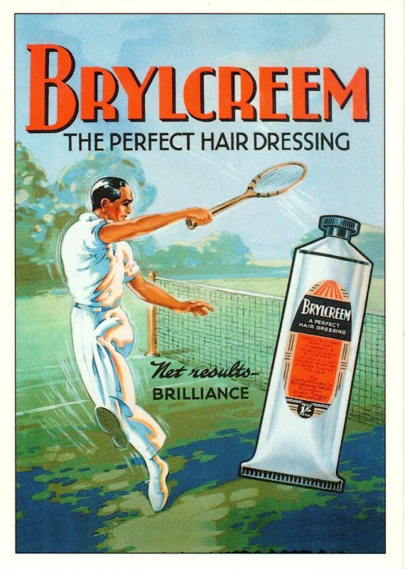 Advertising Repro Postcard | Brylcreem, Vintage ads ...
