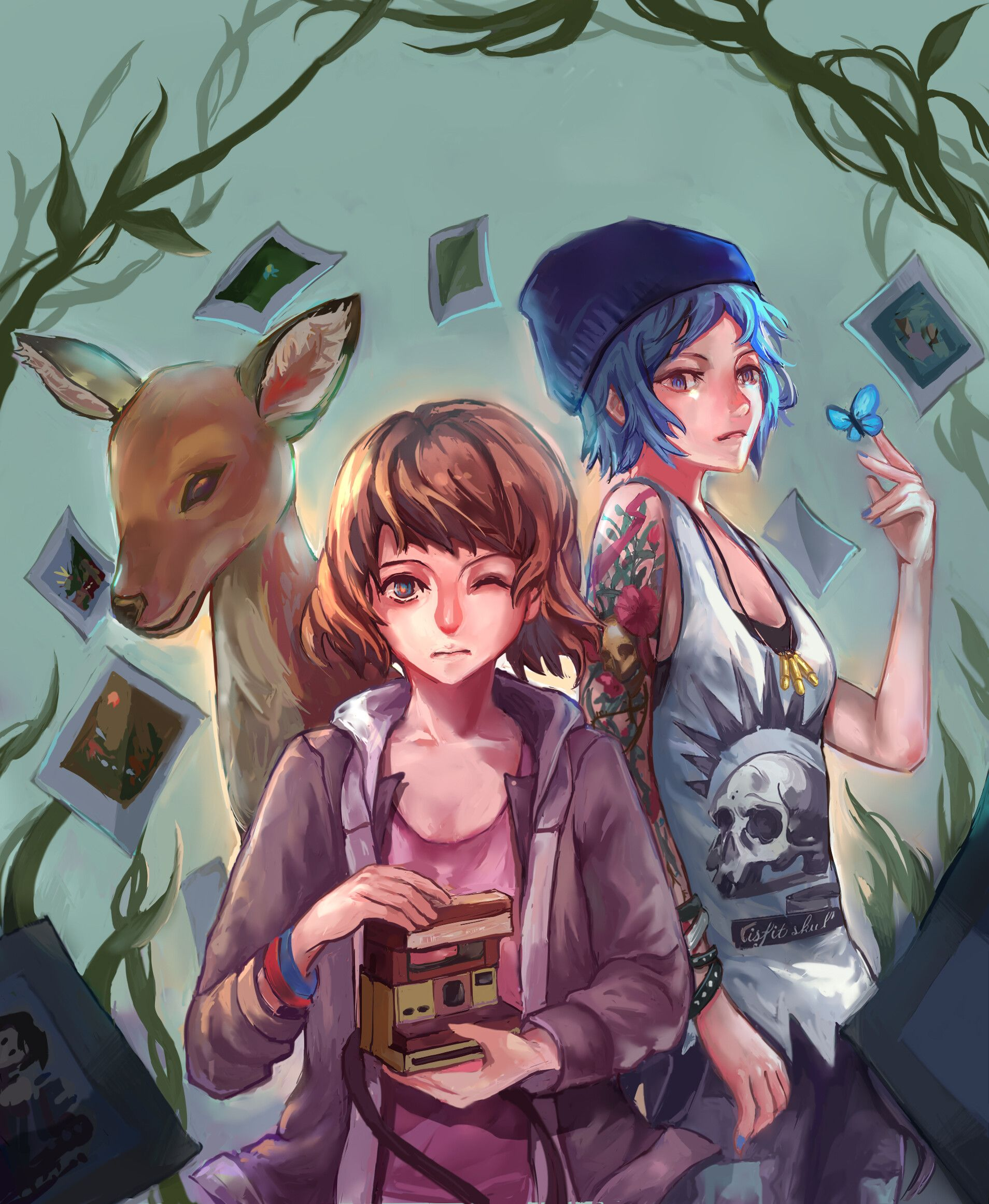 [2016]Fan art of a game LIF (life is strange), Peichin Chen
