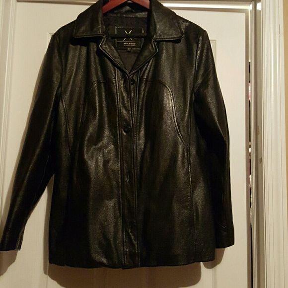 Leathet Jacket Black jacket Wilsons Leather Jackets & Coats