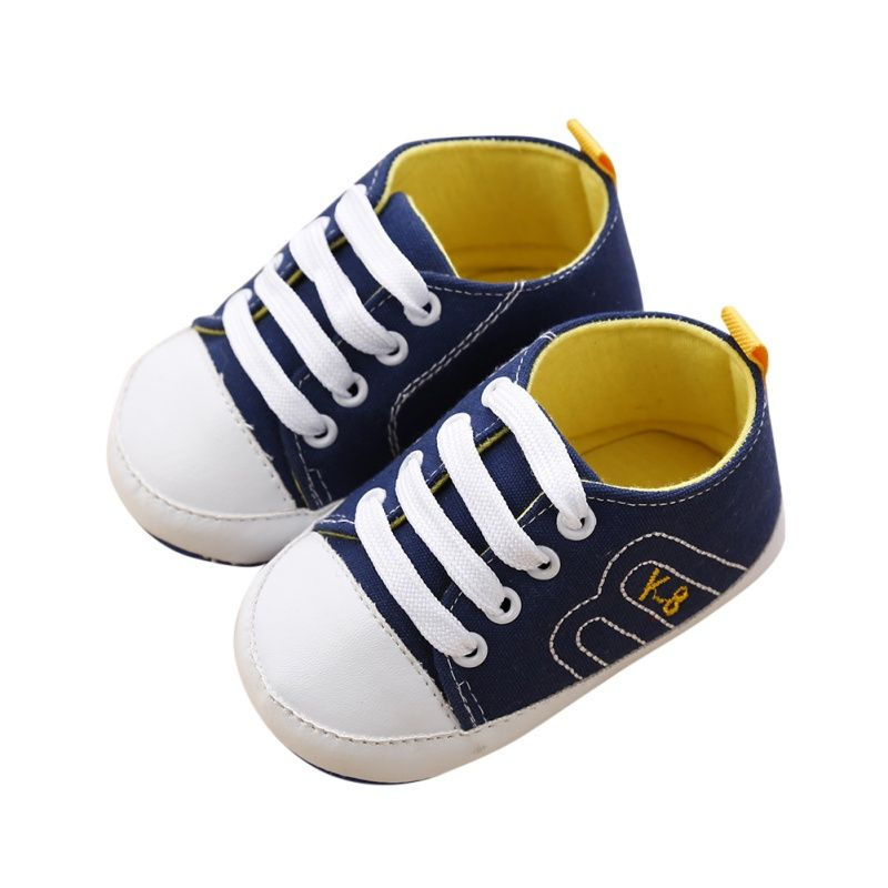 0fd8caad1ffe Click to Buy    Baby Shoes Newborn Girl Boy Soft Sole Crib Toddler Shoes  Canvas Sneaker Sports Shoes Casual 0-18 M A  Affiliate