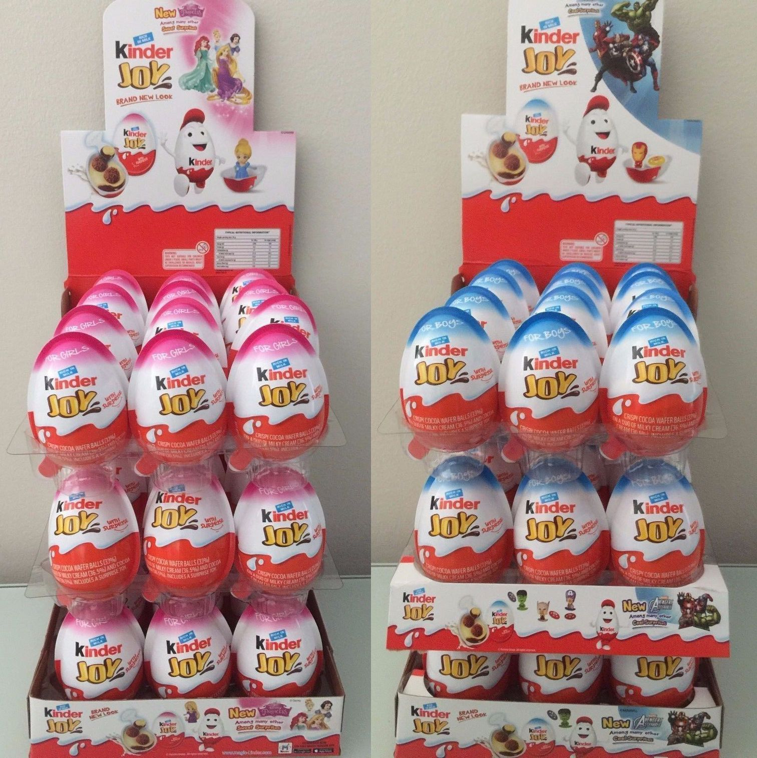 Kinder joy toys car  Kinder JOY Surprise Eggs for BOYS u GIRLS Chocolate Toy InsideKids
