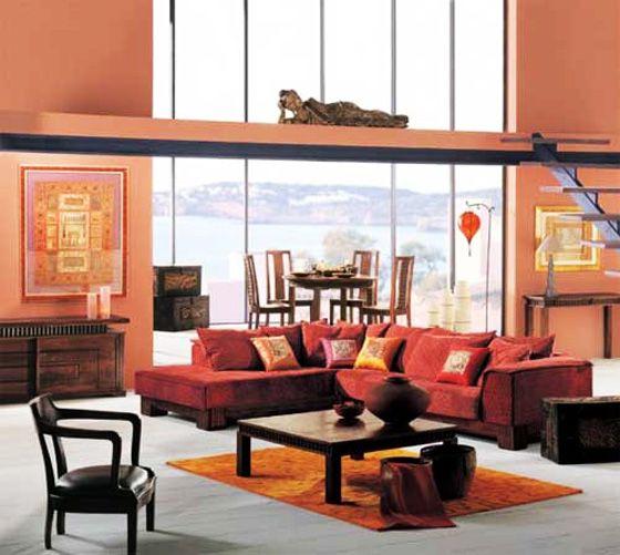 Asian inspired living room YOUR DREAM HOME Pinterest Living