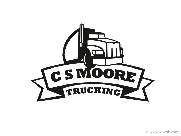 CS-Moore-trucking-logo-design.png 715×536 pixels | Trucks ...