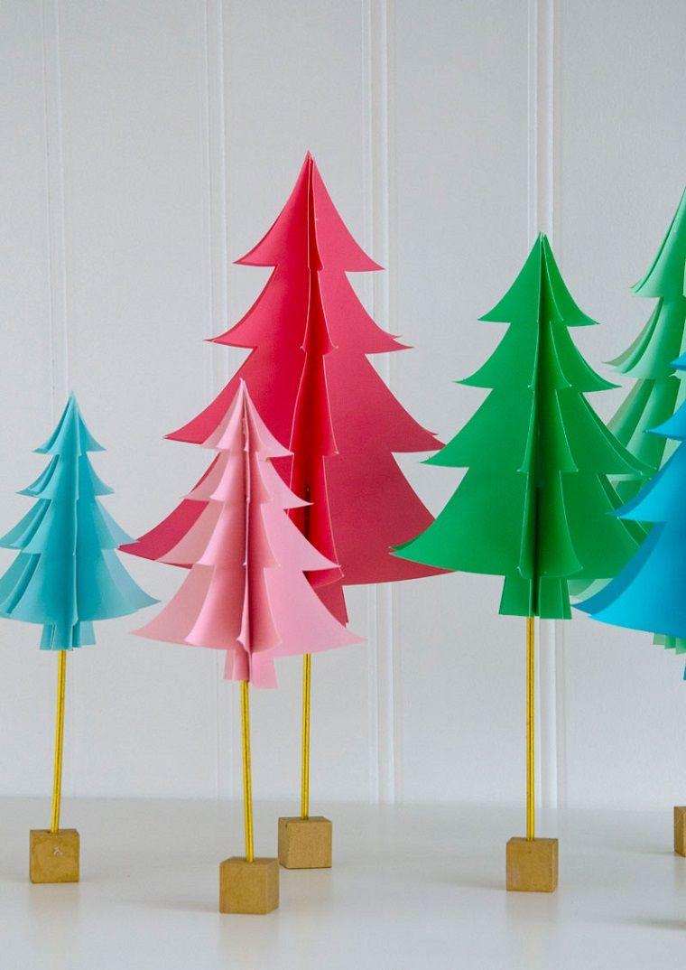 Lavoretti Creativi Albero Di Natale.Idee Lavoretti Creativi Natale Albero Natalizio Cartone