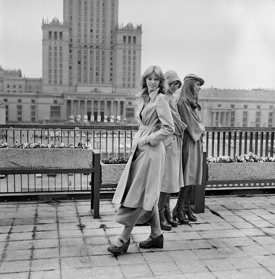 Dachy Domow Towarowych Centrum Pokaz Mody Lata 70 Warszawa Women Clothing Boutique Photo Old Photography