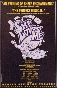 She Loves Me the Musical Broadway Poster (Revival)