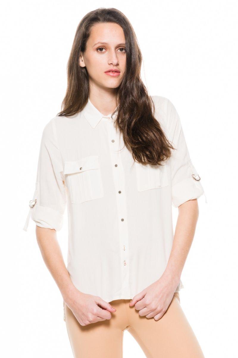 Camisa Safari - Crudo en Rie Arriba!