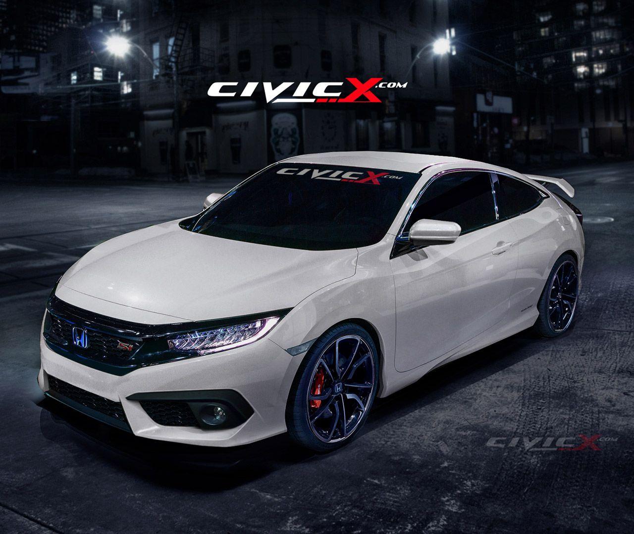 2016 Honda Civic Si (concept) Honda civic si