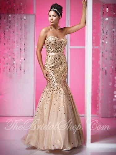 gold prom dresses | Wedding Illinois | Pinterest | Gold prom dresses ...