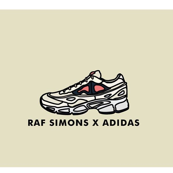 ebdac9d1e4f03 RAF SIMONS X ADIADAS  illustration  art  artwork  fashion  sneaker  sneakers