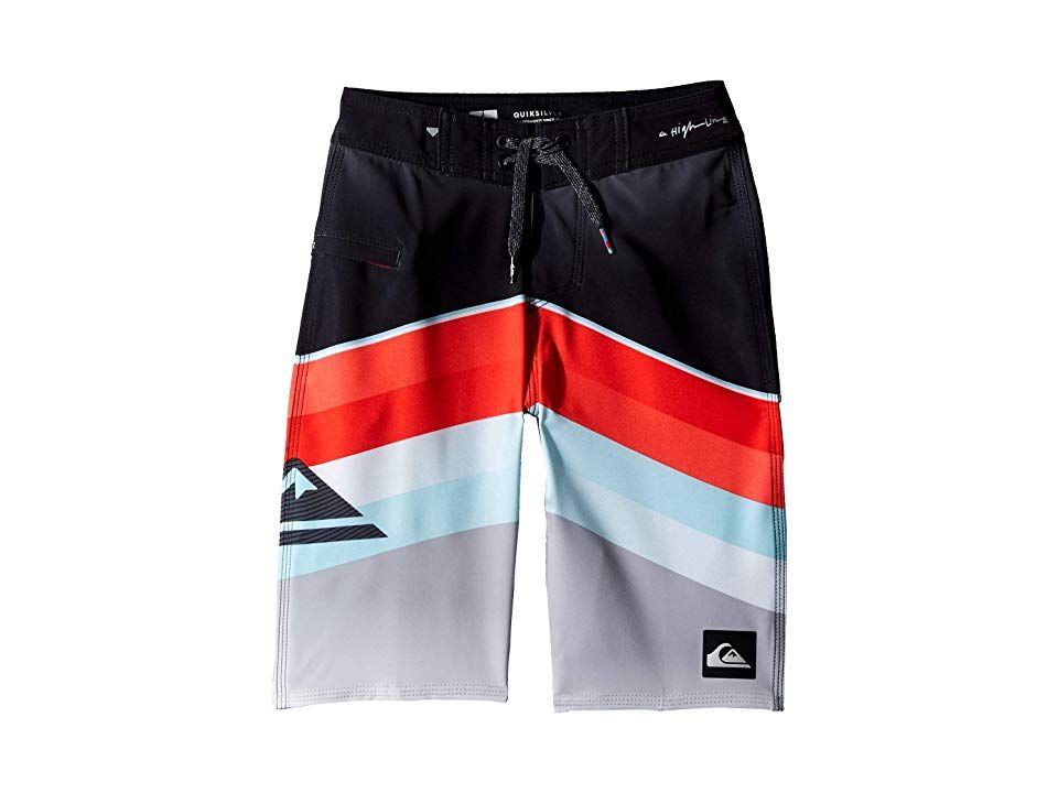 4f09b77ebe Quiksilver Kids Highline Slab Boardshorts (Big Kids) (Flame) Boy's  Swimwear. Help