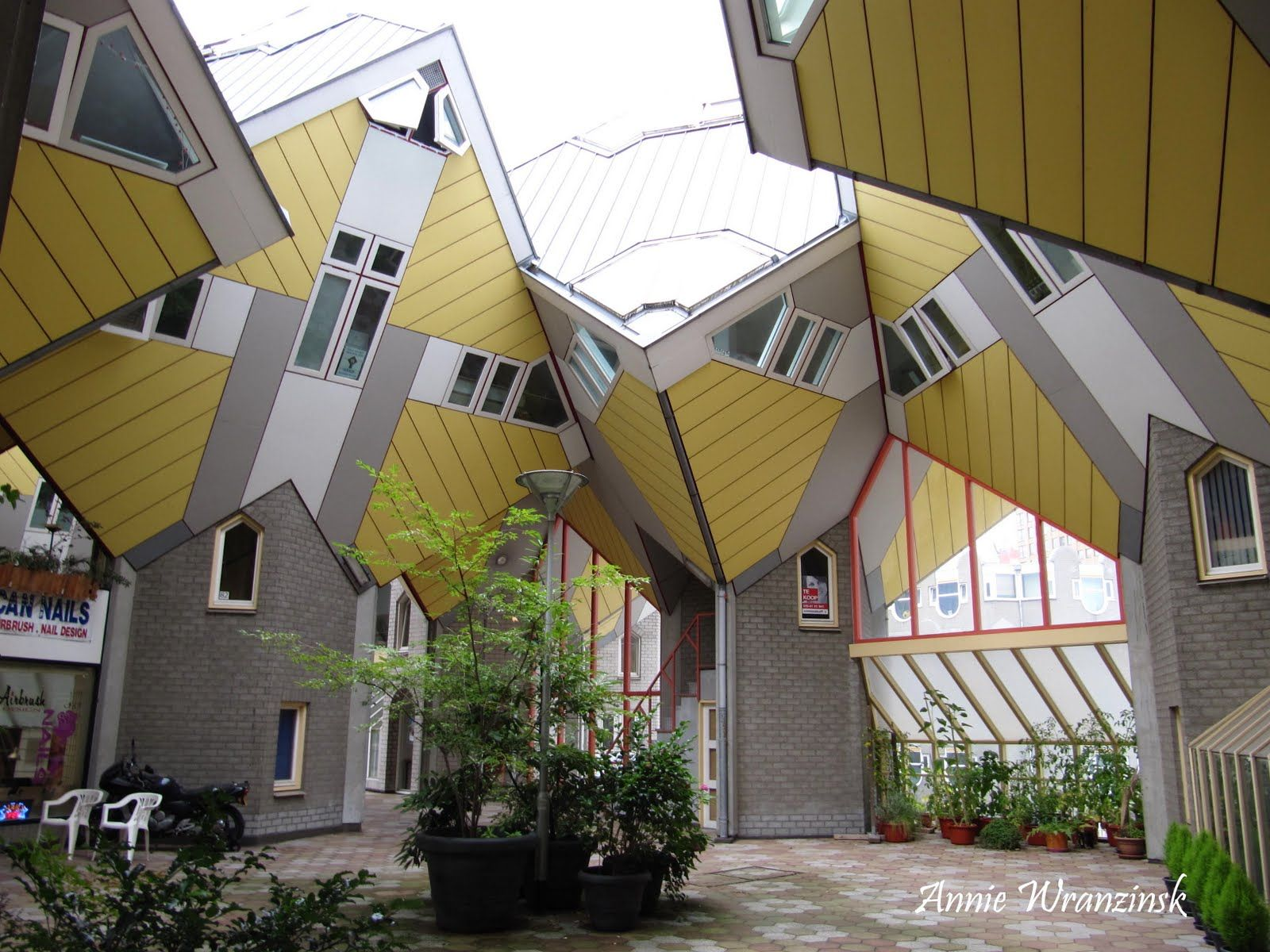 Oxente Lusitano: Arquitetura moderna de Rotterdam - Casas em cubus.