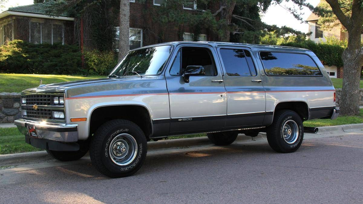 1990 Chevrolet Suburban Silverado For Sale Hemmings Motor News