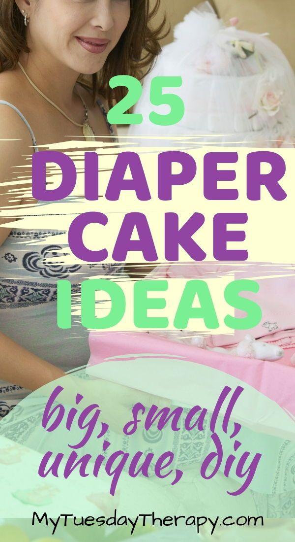 Adorable Diaper Cake Ideas – How To Make A Diaper Cake