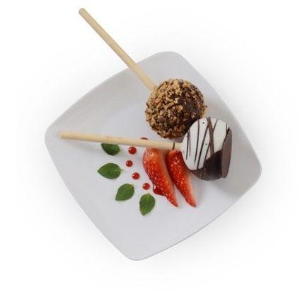White Square Plastic 5.5\  Dessert Plate - 120 Plates #weddings #table #party  sc 1 st  Pinterest & White Square Plastic 5.5\