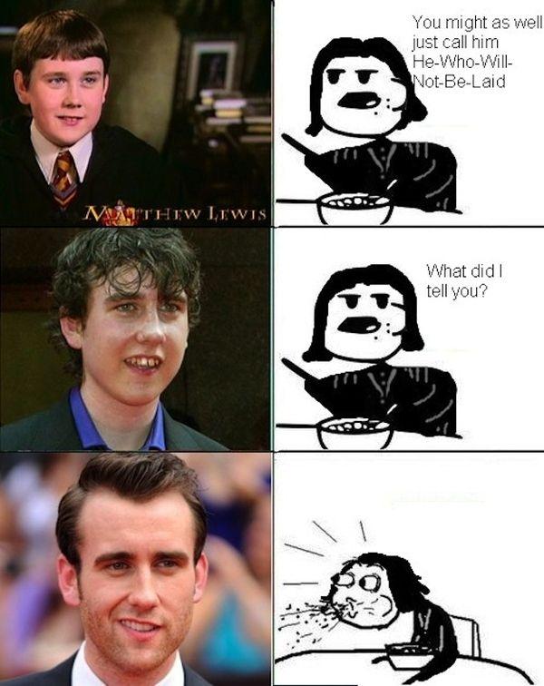 Neville longbottom jack off