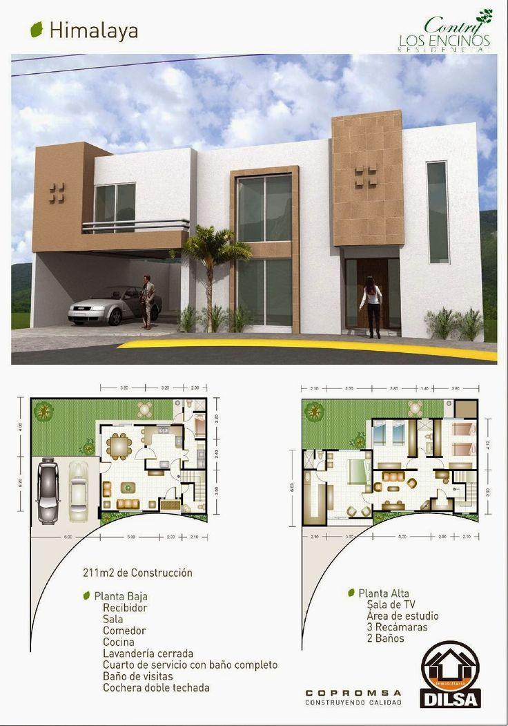 Modelo himalaya en contry los encinos residencial duplex for Plantas arquitectonicas minimalistas