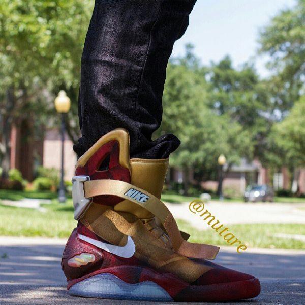 Nike Mag - Iron Man Custom  29674b85005b
