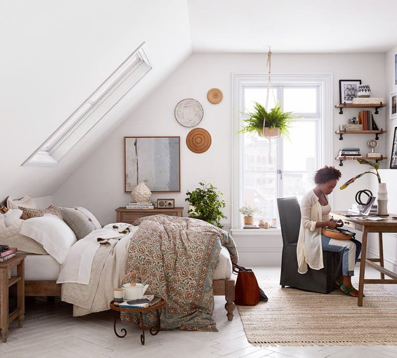 Pottery Barn Launches Pb Apartment To Focus On Small Spaces Small Bedroom Small Room Design Small Apartment Bedrooms