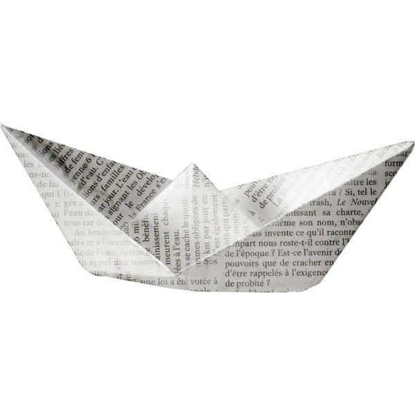 Nld I Sea You Addon Paper Boat Png Polyvore Paper Sea